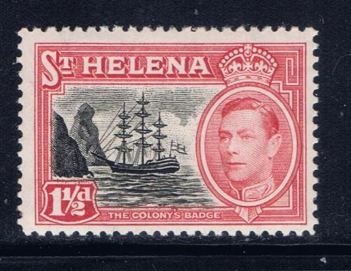 St Helena 120 Lightly Hinged 1938 issue