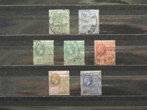 5631   Br Guiana   Used # 160, 175, 178, 178a, 179, 180, 181   CV$ 10.55