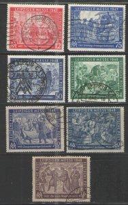 Germany - Deutsche Post 1947-48 Used VG - Leipzig Fair issues lot