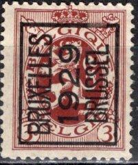 Belgium; 1929: Sc. # 200; O/Used PreCancel Single Stamp