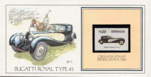 Grenada, First Day Cover, Automobiles