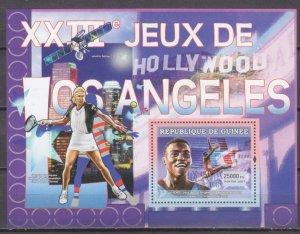 2007 Guinea 4645/B1159 Olympic athletes / Karl Lewis 7,00 €