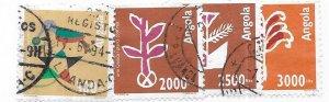 Angola #895-895 complete set (U) CV $6.40