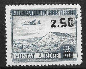Albania (1952) - Scott # C63,   MH