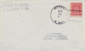 United States New Mexico Otten 1932 4c-bar  1922-1932  Philatelic.