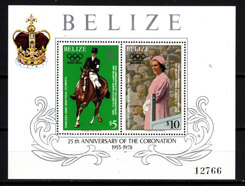 Belize souv. sheet 438 mnh
