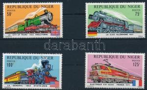 Niger stamp Locomotive set 1975 MNH Mi 460-463 WS240336