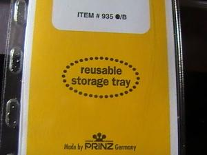 PRINZ MOUNTS/GARD--215MM LONG x 57MM HIGH---15 STRIPS---BLACK BACKROUND