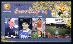 [101281] Palau 2004 European cup football Netherlands Van Basten Sheet MNH