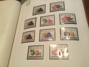 [SOLD] ICOLLECTZONE Afghanistan 522-531 VF NH  fruits