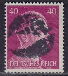 Germany Soviet Zone SBZ - LOCAL BLOSENBERG 40Pf HITLER head - Expertized Richter