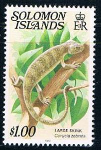 Solomon Islands 410 MNH Large Skink 1979 (S1002)