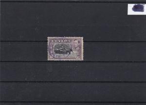 ceylon 1938 50 cent used stamp cat 50.00 ref 12718
