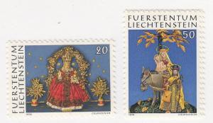 Liechtenstein, Sc 610-611, MNH, 1976, Christmas
