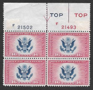 Doyle's_Stamps: MNH 1936 VF-XF Air Post Special Delivery 16c Scott #CE2** PNB
