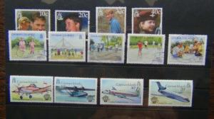 Cayman Islands 1983 Flight MNH 2000 Prince William 2003 Children Used