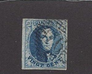Belgium, 4, King Leopold I Single, **Used**