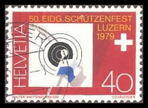 Switzerland 672 Used VF