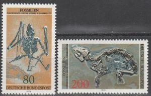 Germany #1275-6 MNH CV $3.50 (S1991)