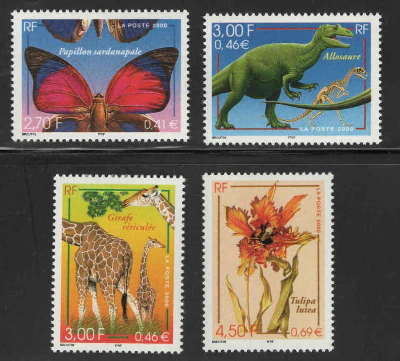 France Scott  2776-2779  MNH** Nature set