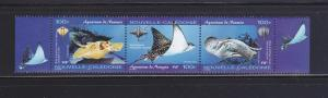 New Caledonia 942 Set MNH Sting Rays