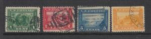 #397-400 1c-10c Pan Pacific Issue  (USED) Scarce  cv$35.00