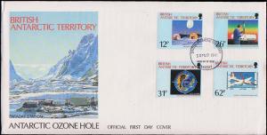 British Antarctic Territory Scott 176-179 Unaddressed.