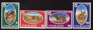 $Malawi Sc#319-322 Mint/NH, complete set, Cv. $56.50
