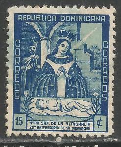 DOMINICAN REPUBLIC 398 VFU P189-4