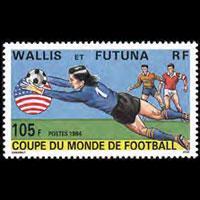 WALLIS & FUTUNA 1994 - Scott# 457 W.Cup Soccer Set of 1 NH