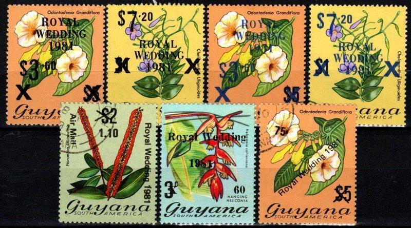 Guyana 1981 Royal Wedding   (X9400)