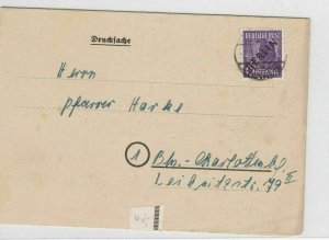 German Postal History Stamps Cover Ref: R4602