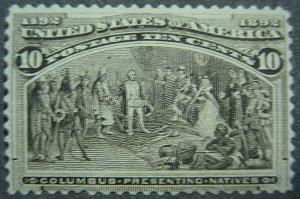 U. S. 237 Mint RG FVF SCV$110.00 Rich Color