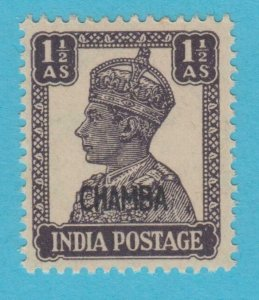 INDIA CHAMBA 93 MINT  NEVER HINGED OG ** NO FAULTS VERY  FINE !