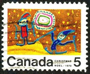 Canada #522 Used