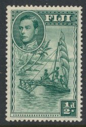 Fiji  SG 249  Mint Hinged 1949  definitive see scan