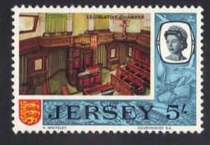 Jersey  1969  MNH definitive 5s.   #