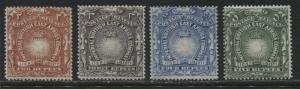 British East Africa 1890 2 rupees tp 5 rupees mint o.g.