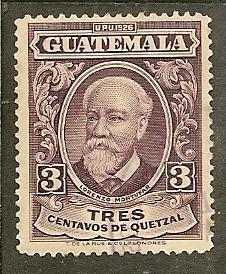 Guatemala      Scott 236     Montufar         Used