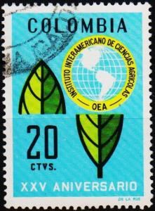 Colombia. 1969 20c S.G.1236 Fine Used