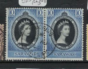 Sarawak SG 187 Pair SON CDS VFU (2dvq)