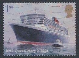 GB  SC# 2202 Ocean Liners Queen Mary 2004  SG 2448  Used   as per scan