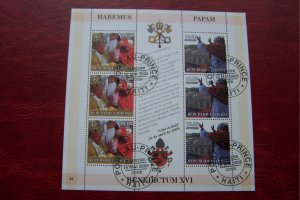 Haiti 2005 CTO Pope Benedict XVI  #3