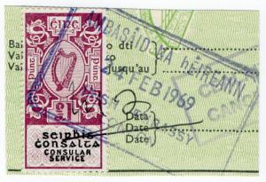 (I.B) Ireland Revenue : Consular Service £1
