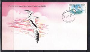 Dominica FDC card Sc 620 Cousteau Soc. Tropic Bird L34