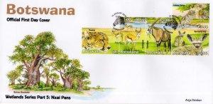 Botswana - 2019 Wetlands Nxai Pans FDC