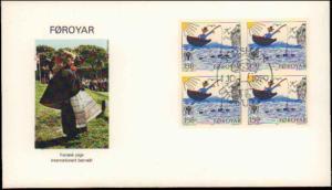 Faroe Islands, Worldwide First Day Cover