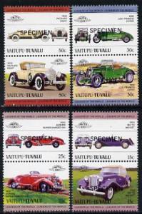 Tuvalu - Vaitupu 1984 Cars #1 (Leaders of the World) set ...