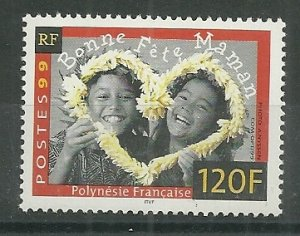 1999 French Polynesia #757 Happy Mother's Day MNH
