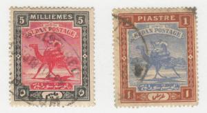 Sudan - 1898 - SC 12-13 - Used